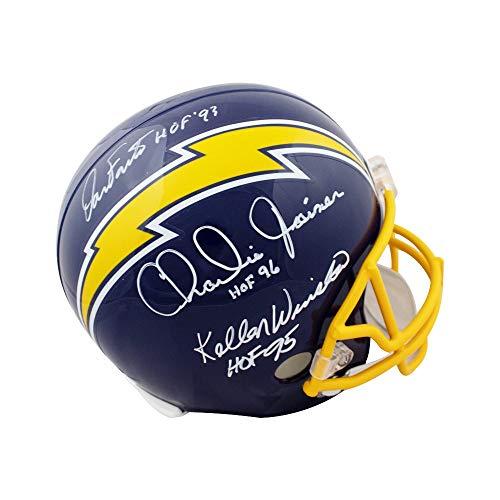 Joiner Autographed San Diego Chargers - San Diego Chargers HOF Greats Autographed Full-Size Football Helmet - JSA COA