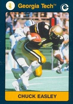 6c94bde01 Image Unavailable. Image not available for. Color  Chuck Easley Football ...