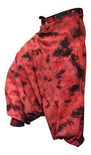 riserva LARGO a Harem HIPPIE tintura COLORATI Pantaloni shopoholic FASHION Vestibilit YOwpWqvTX