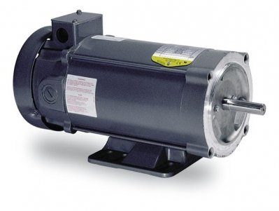 Baldor Electric, CDP3310.25HP, 1750RPM, 90V, 56C Frame, C-Face Flange, Foot Mount, TENV, General Purpose ()