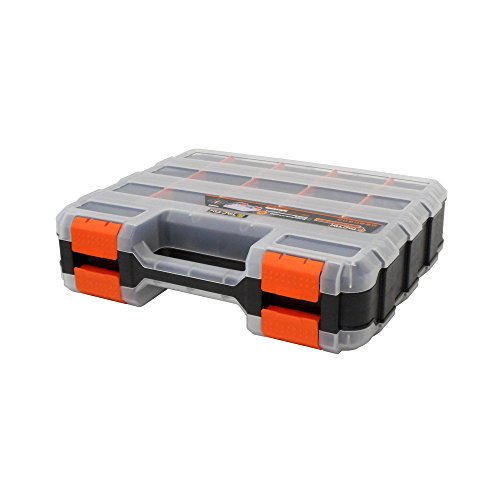 HDX 320028 34-Compartment Double Sided Organizer with Impact Resistant Polymer and Customizable Removable Plastic Dividers by HDX (Image #1)