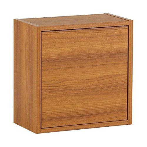 arne 壁掛け棚 ウォールラック Sサイズ WallBoxSeven Atype単品S ダークブラウン B00OUIZ7WO 正方形Sサイズ ダークブラウン ダークブラウン 正方形Sサイズ