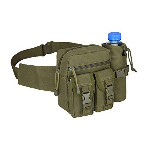 wandelen 07shuma voor heuptas tactische pakket Waterfles waterdicht legergroen met Militaire zak 8pqxwzC1