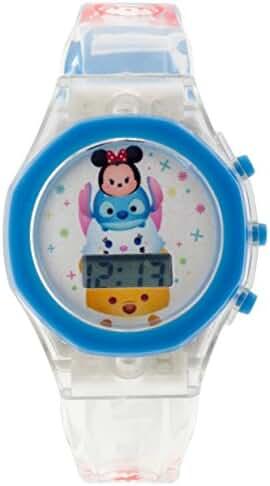 Disney Girl's 'Tsum' Swiss Automatic Plastic Casual Watch, Color:Champagne (Model: TSTSKD16044LS)