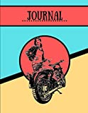 Journal: Road Trip Motorbike Travel Novelty Gift - Lined JOURNAL, 130 pages, 8.5' x 11'