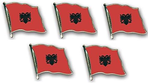 Yantec flaggenpin de 5 pins /épingle fahnenpin albanie