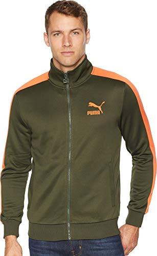 - PUMA Men's Classics T7 Track Jacket Forest Night Large