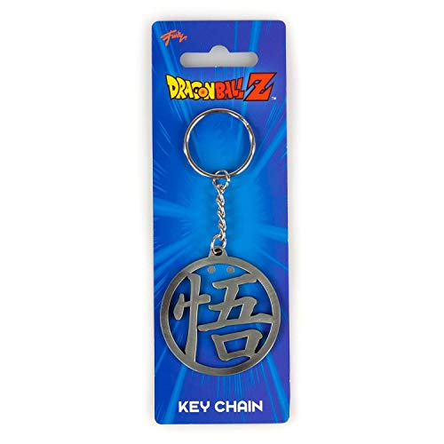 Dragon Ball Z Collectibles Z Goku's GO Symbol Metal Key Chain (Dragon Ball Z For Kinect Part 1)