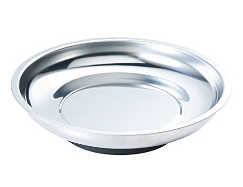 Arsenal 5925 Magnetic Tray Organizer, 6 inch, Round, Stainless]()