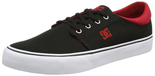 Shoes TX Red Trase White Herren DC Sneaker Black Schwarz dfnCnx