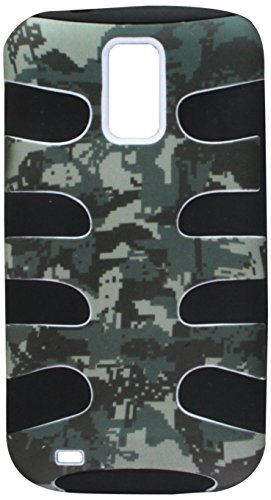 MyBat SAMT989HPCSKLZ766NP Fishbone Case for T-Mobile Samsung Galaxy S II/T989 - Lizzo - 1 Pack - Retail Packaging - Digital Camo (Lizzo Digital Camo)