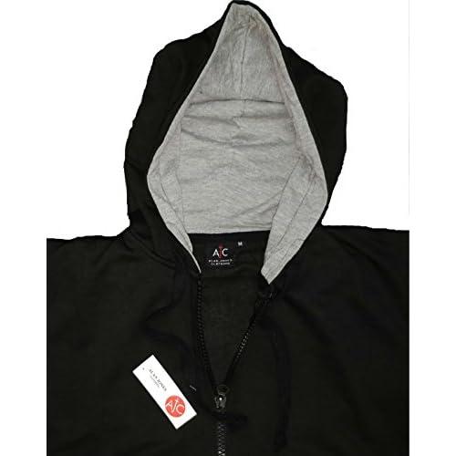41UkiYpnCTL. SS500  - Alan Jones Clothing Men's Cotton Hooded Sweatshirt