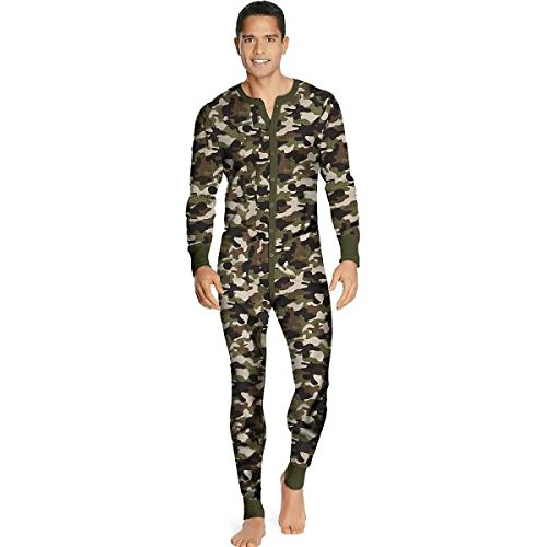Hanes Men's X-Temp™ Camo Thermal Union Suit 3X-4X by Hanes