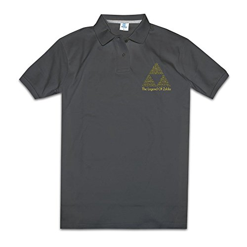 The Legend Of Zelda Action Men Polos Shirts Offensive Suitable For Home& Office.