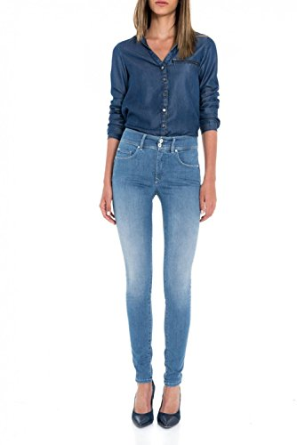 Vita Skinny Jeans Push Secret Azzuro Salsa A Media In TvAWxBn4
