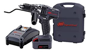 Ingersoll Rand D5140-K1 1/2-Inch Cordless Drill Driver, Charger, 1 Li-ion Battery and Case Kit