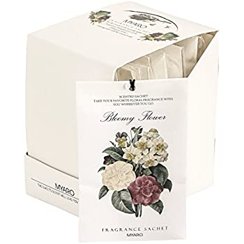 MYARO MR 01 12 Packs Jasmine Scented Sachets For Drawer And Closet Best Gift