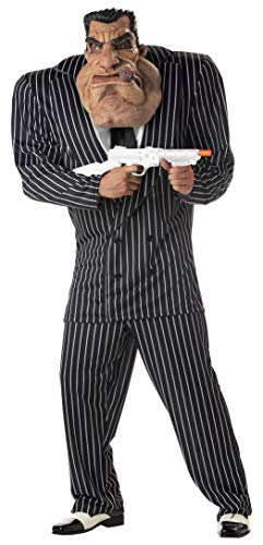 California Costumes Men's Adult-Massive Mobster, Black, XL (44-46) Costume