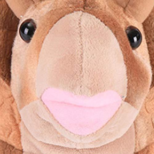 Unisex Koala Brown Pantofole Casa In Interno Morbido Scarpe Triceratops Caldo Animal Inverno Scarpe Adulti Animale Per Gray Da Velluto Peluche Caldo Cotone XqTwBIWRz