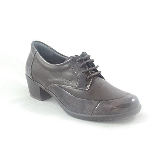 mujer de Suave cordones marr Zapatos para wIPzaZ