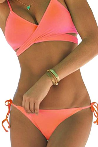 Sovoyant Womens Bandage Padded Swimsuit