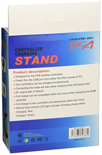 PS4 Charging Station for DualShock 4 (PlayStation 4 Controllers)