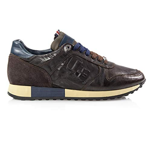 D'acquasparta Italy Nr44 Jesse Made In Pelle Chocolate Sneaker MVpqUSz