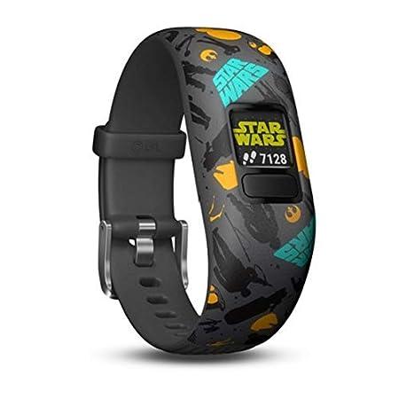 Orologi Star Wars - Garmin Vivofit JR 2 Activity Tracker per Bambini con Cinturino Regolabile o Elasticizzato - 4 anni - Grigio, Anni 6+