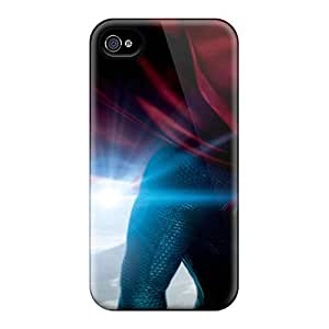 Sanp On Cases Covers Protector For Iphone 5/5s (2013 Man Of Steel Movie)