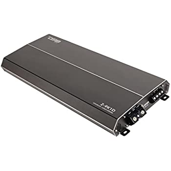DS18 Elite Z-9K1D 9000 Watts 1 Channel Class D Monoblock High Performance Power Amplifier with Remote Subwoofer Level Control