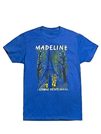 Out of Print Men's Madelines T-Shirt Medium Royal