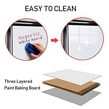 Stand White Board 36 x 24 Magnetic Dry Erase Board w/Flipchart Pad Tripod Easel Board