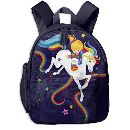 Horizon-t Adfjtys Backpack Rainbow Brite And Starlite Memories Bag Canvas Backpack School - Backpack Rainbow Brite