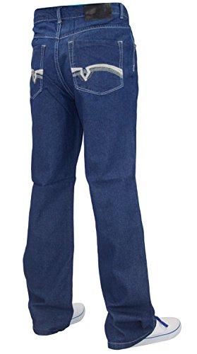 Mens WWK Denim Jeans Mid Blue 32W Regular