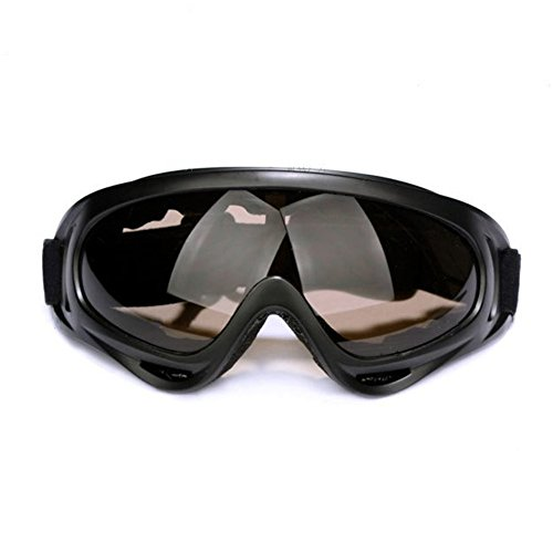 Z-P Unisex Outdoor Ski Snowboard Cycling Hiking Wind Goggles - Sunglasses Dark After Band