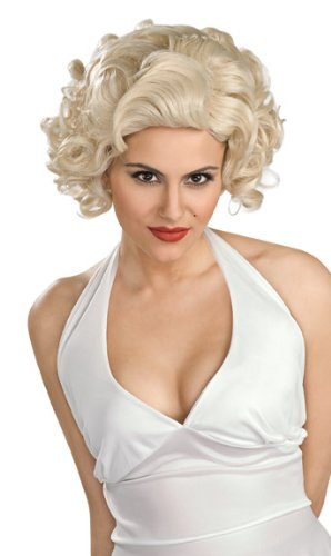 Rubie's Costume Classic Marilyn Monroe Wig, Yellow, One Size