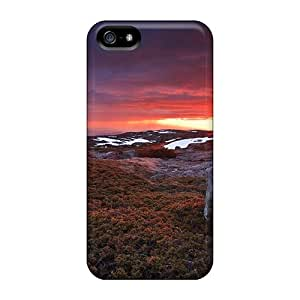 New Style Case Cover GkTeWXF7089GgovE Frizzing Sunset At Serra Da Estrela Portugal Compatible With Iphone 5/5s Protection Case