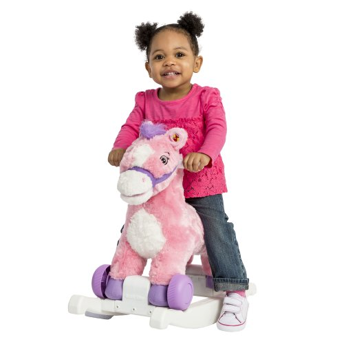 Rockin' Rider Candy 2-in-1 Pony Ride On