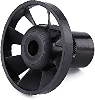 1pcs Black Plastic Blowing Nuts Rotary Dust Blower Fan for Small Electric Grinder