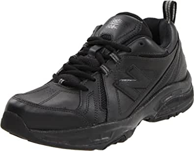 New Balance Women's WX608V3 Cross-Training Shoe,Black,6 D US