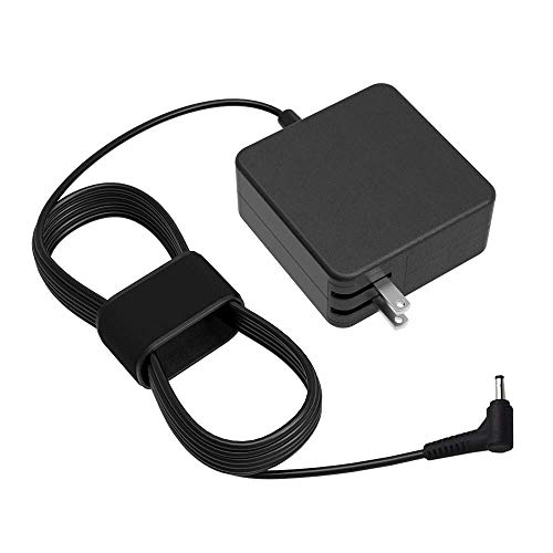UL Listed 45W 7.5Ft AC Wall Charger for Lenovo IdeaPad S145 S340 S540 C340 S145-14IGM S145-15IGM S340-14IWL S340-14API S540-14IWL S540-15IWL C340 C340-15IWL Touch Laptop Power Cord Supply Adapter