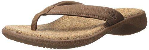 Sole Sandals Womens Flips (SOLE Women's Cork Flips Sandal,Bark,6 M US)