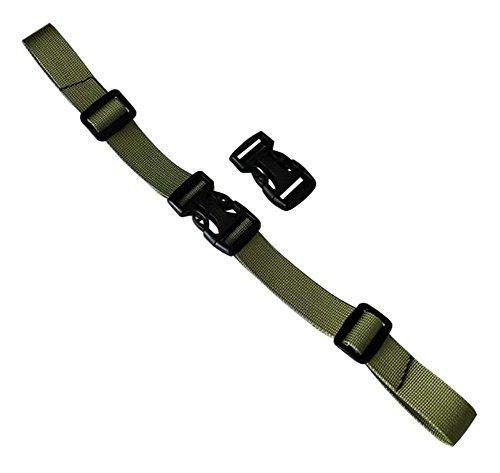 General mochila hebilla cinturón ajustable mochila cinturón de hierba verde
