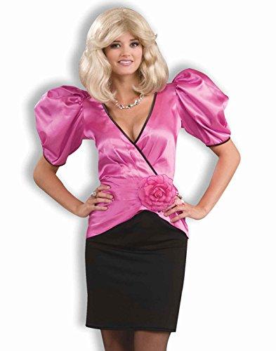 80's Look Costume (Forum Novelties Women's 80's Soap Star Costume, Pink, Standard)