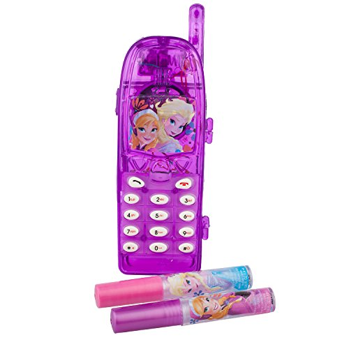 Disney's Frozen Sparkly Lipstick with Light Up Cell Phone Toy