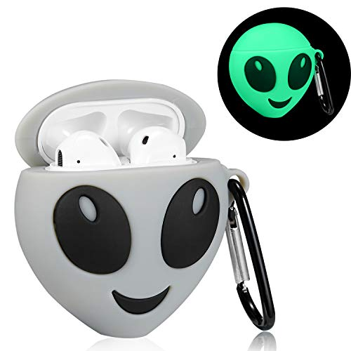 Mulafnxal Compatible with Airpods 1&2 Case,Silicone 3D Cute Fun Cartoon Funny Character Desginer Airpod Cover,Kawaii…