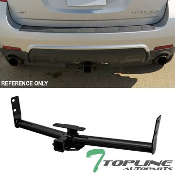 Topline Autopart Class 3 III Trailer Towing Hitch Mount Receiver Rear Bumper Utility Tow Kit 2