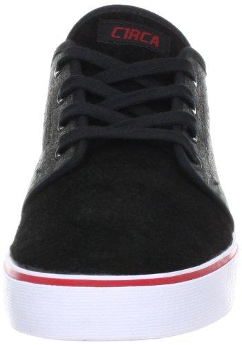 C1rca Mens Drifter Fashion Sneaker Nero / Antracite In Flanella