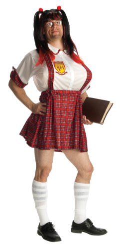 Teachers Pet Costumes (Rubie's Costume Double Take Teacher's Pet Costume, Plaid, One Size)