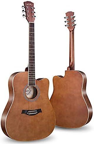 ギター フェイスシングル男の子と女の子のエントリーピアノ練習アコースティックギター41インチのベニヤ初心者ギター 入門 ギター (Color : C, Size : 41 inches)